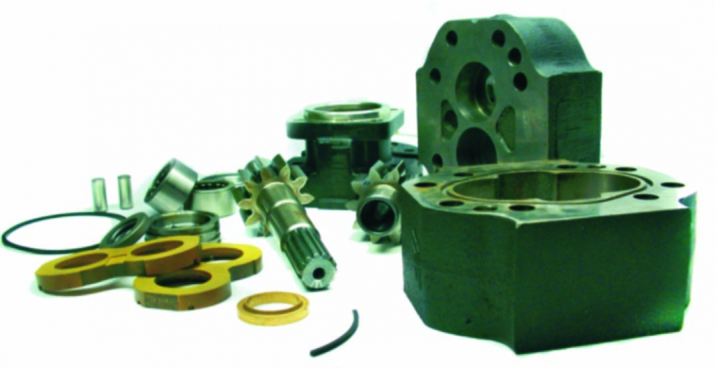 Fixed Displacement Gear Pumps and Motors